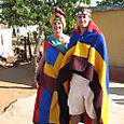 Brad and me as Ndebeles