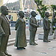Statues of South African Nobel Prize Winners