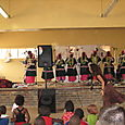 Performing group at farewell luncheon