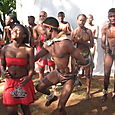 Our wonderful dancers, Setswana, of course